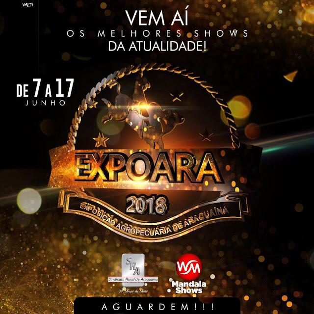DATA DA EXPOARA 2018