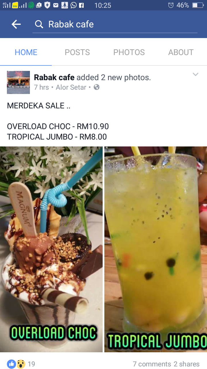 Image Result For Cerita Cafe Menu