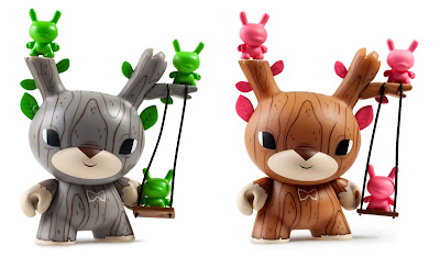 "Designer Toy Awards Dunny 3"" Mini Figure by Gary Ham x Kidrobot x Clutter"