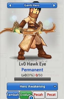Hawk Eye Evolution Lost Saga Indonesia