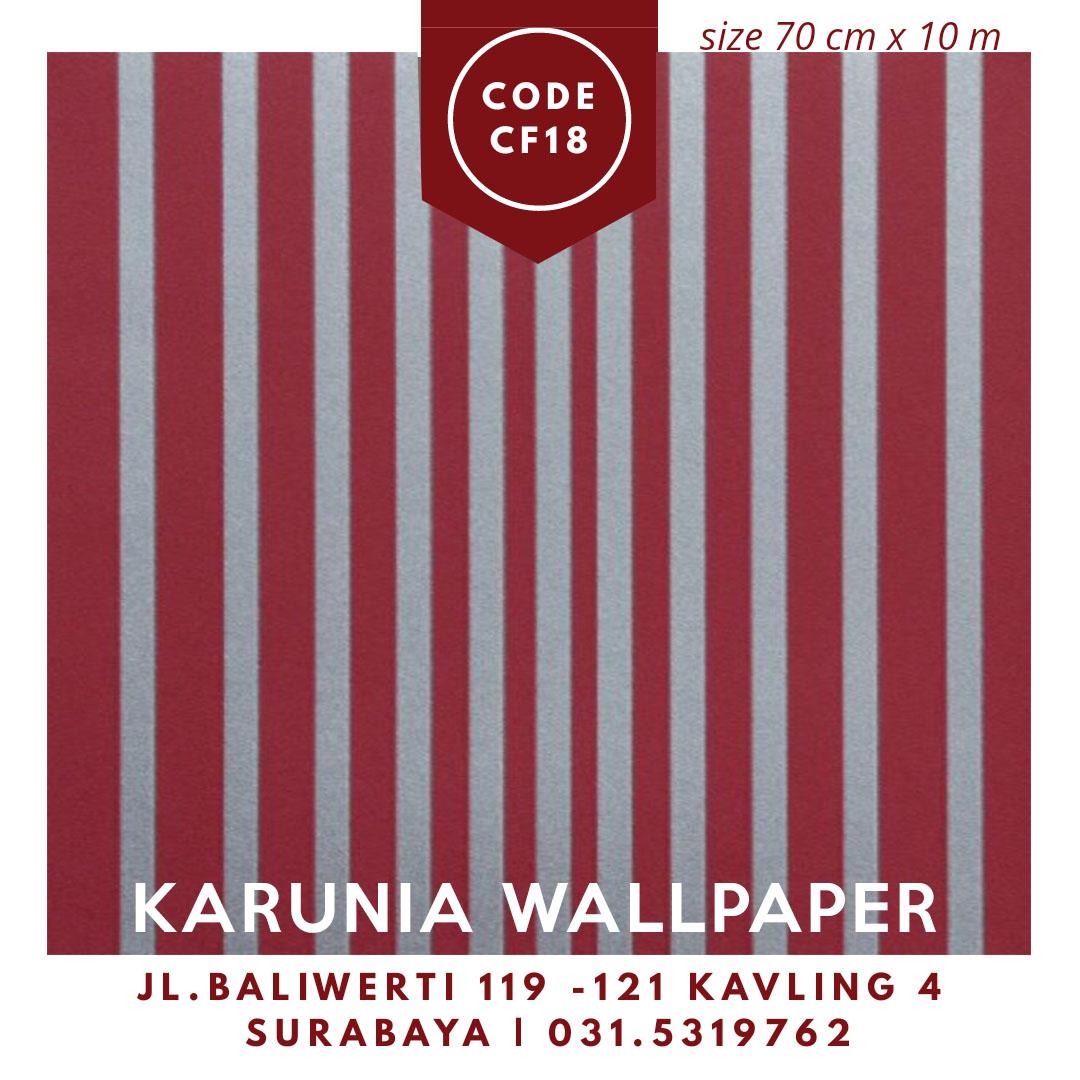 jual wallpaper dinding merah