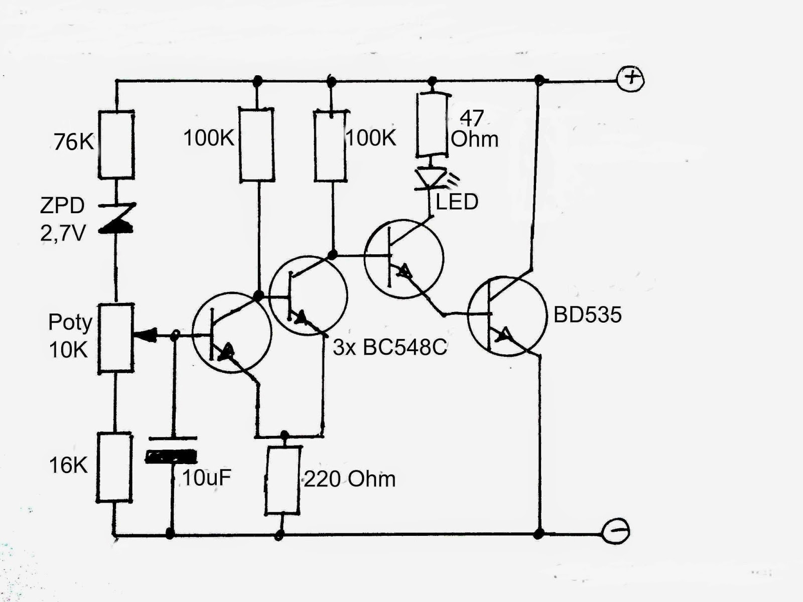 Lead Acid Charger Circuit - Auto Electrical Wiring Diagram