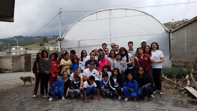 Coface construyó y donó un invernadero a la Fundación Ecuasol