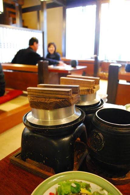 Kamameshi. Crab Kani Doraku Douraku restaurant Tokyo. Tokyo Consult. TokyoConsult
