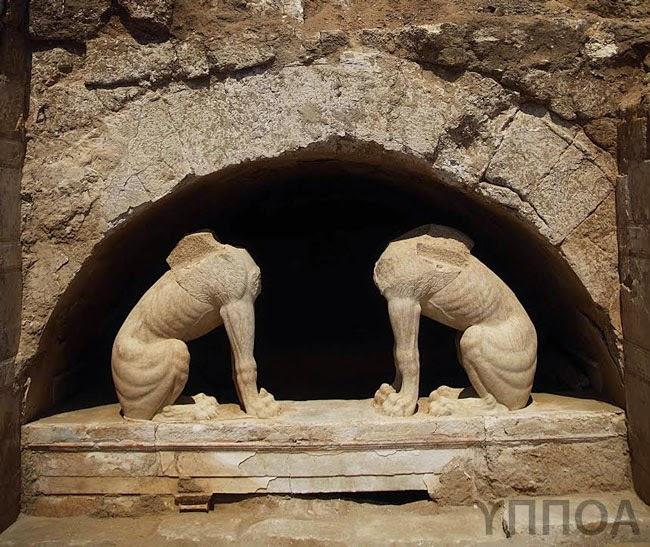 Nuove immagini dal possibile sepolcro di Alessandro Magno