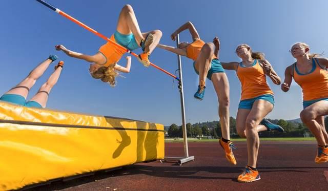 Salto alto ejercicios para enseñar la técnica atletismo