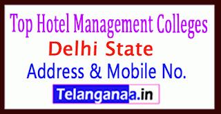 Top Hotel Management Colleges in Delhi