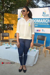 Actress Rakul Preet Singh at Endometriosis Awareness Walk at Apollo Cradle  0095.jpg