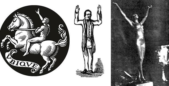 ilustraciones de la señal de la admiración de la masonería