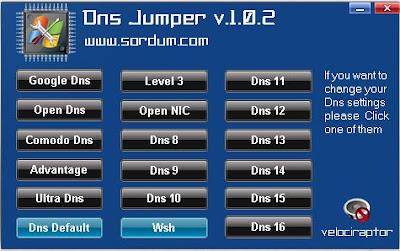 DNS JUMPER GRESSNET