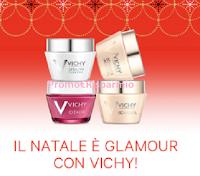 Logo ''Il Natale è Glamour con Vichy'': abbonamenti semestrali Vanity Fair, Glamour, Vogue! Premio certo!