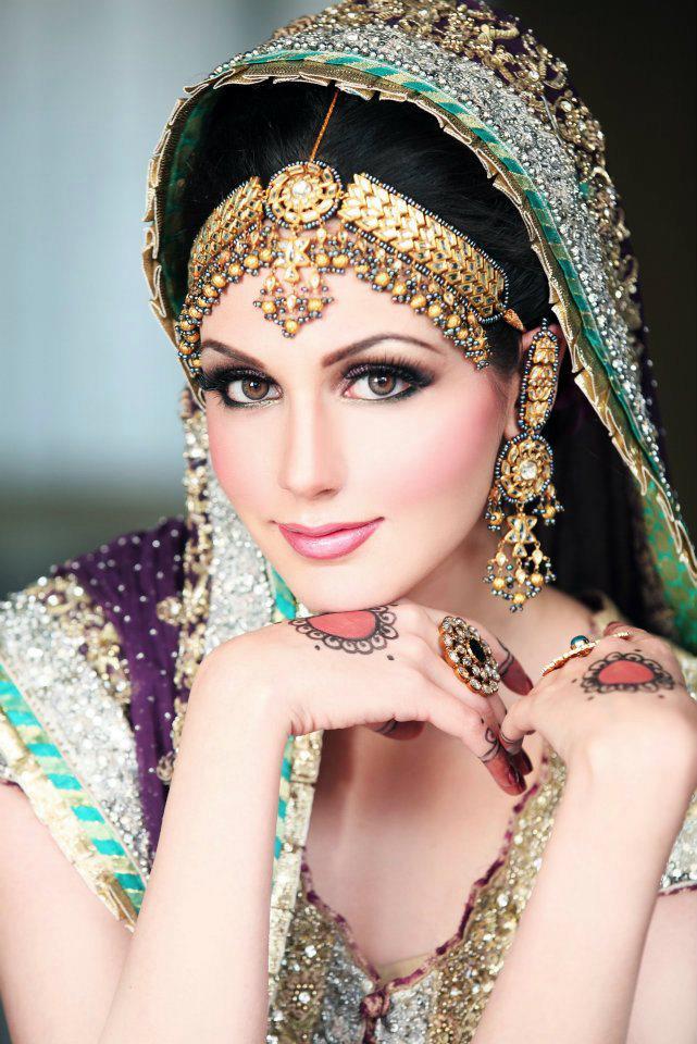 Fashion Freak: Latest Images Of Pakistani Bridal Makeup