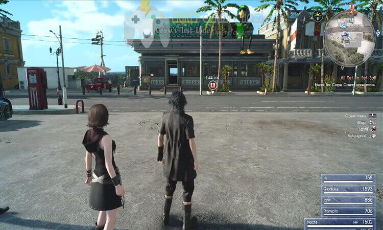 تحميل لعبة فاينل فانتسي 15 Final Fantasy XV