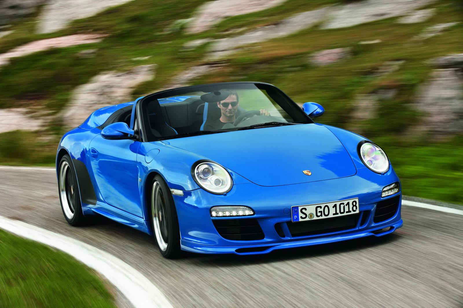 New Porsche 911 Speedster Could Debut In Frankfurt