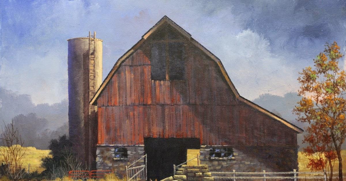 Harmon Art Old Iconic Barn