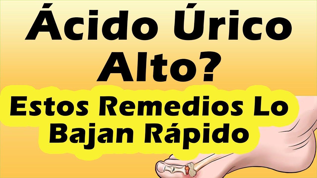 remedios caseros para bajar el acido urico en la sangre