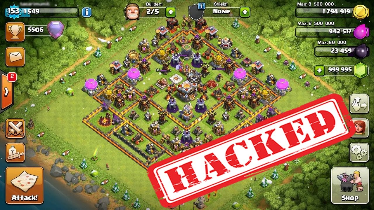 clash of clans hack unlimited everything