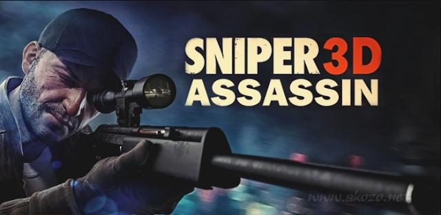 Sniper 3D Assassin Mod Apk Terbaru (Unlimited Gold/Gems)