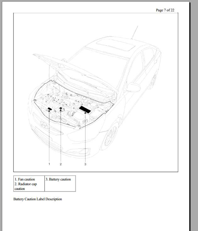 Free Automotive Manuals: HYUNDAI ACCENT RB WORKSHOP MANUAL