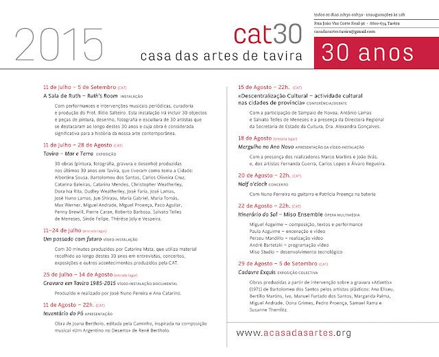 cartaz Casa das Artes 2015