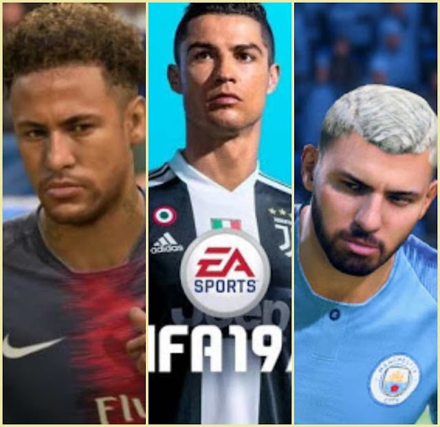 The Top 20 Best Players FIFA19,Ronaldo is still number one