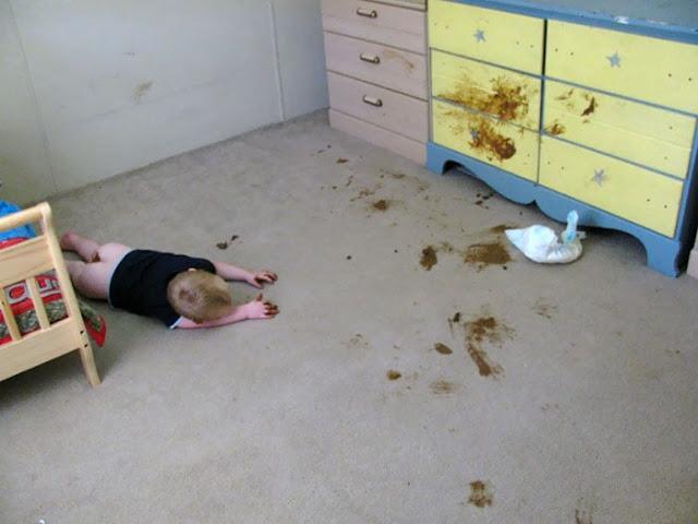 شاهد صور أطفال يُحبون الخراب!