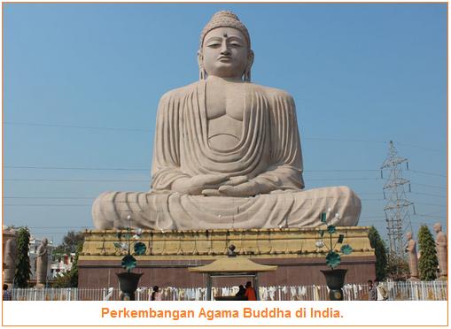 Perkembangan Agama Buddha di India - Dua Aliran Buddha, Tempat Suci Buddha di India