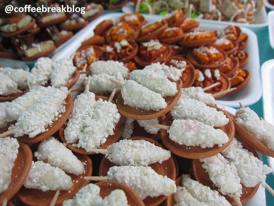 Mercadito de los Muertos - cibo in miniatura