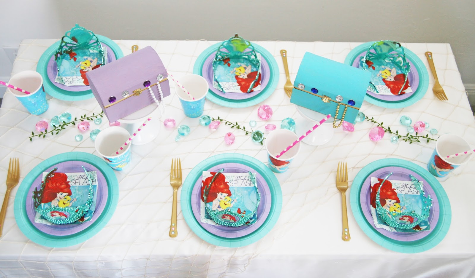 The Little Mermaid Party by The Celebration Stylist