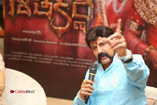 Shriya Saran Nandamuri Balakrishna at Gautamiputra Satakarni Team Press Meet Stills  0190.JPG