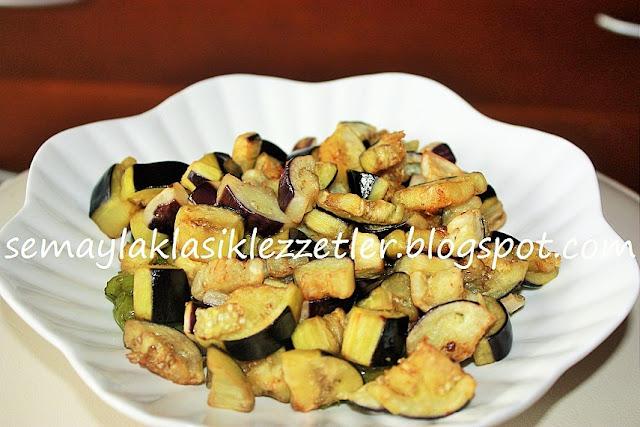 Kızarmış Patlıcan Salatası