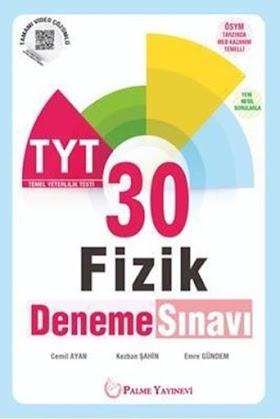 Palme 30 TYT Fizik Deneme PDF indir