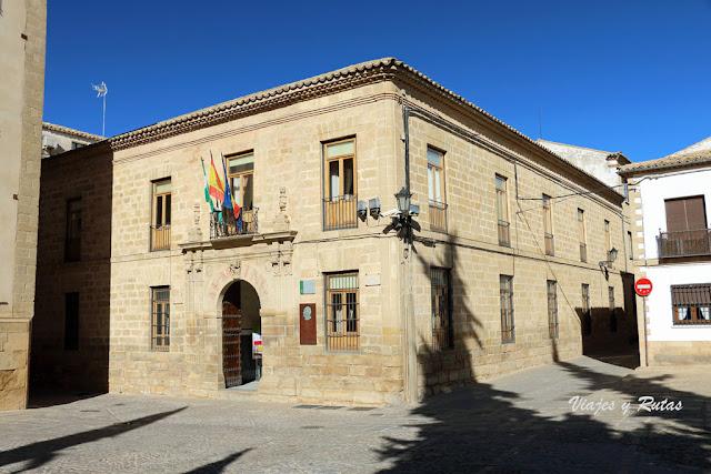 Antigua Universidad de San Juan Evangelista, Baeza