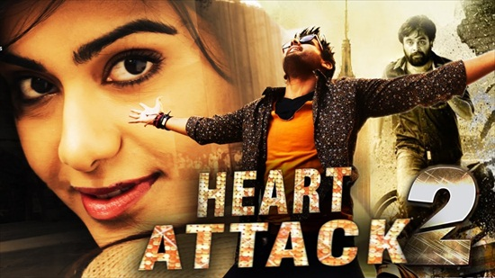 Heart Attack 2 (2018) UNCUT Dual Audio Hindi 480p HDRip 450MB