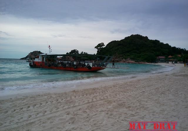 Percutian Ke Pulau Redang Feri