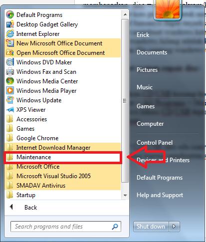 how to create a windows repair disk