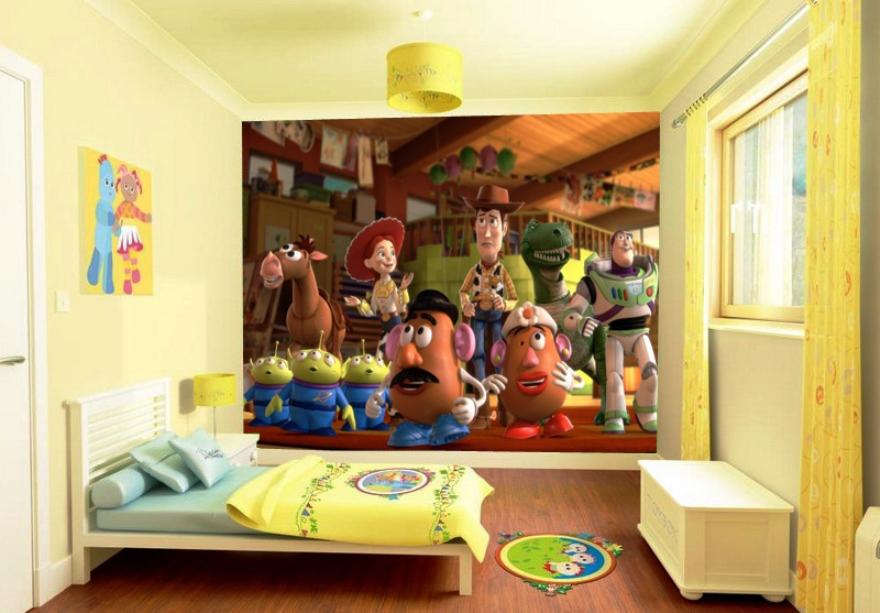 Gambar Wallpaper Dinding Kamar Tidur Anak Cowok Terkini