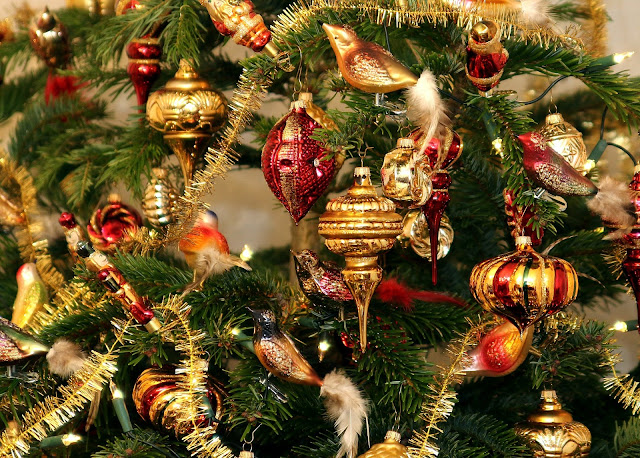 amerikanischer weihnachtsbaumschmuck