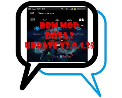 Kumpulan BBM MOD Tema Dota 2 Base v3.0.1.25 Apk Lengkap Update Terbaru [With Change Background]
