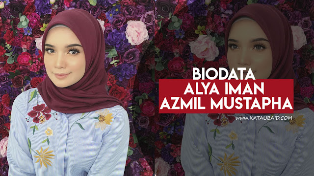 Biodata Alya Iman Azmil Mustapha Pelakon Drama Senafas Rindu
