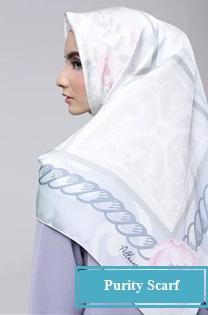 model jilbab Purity scarf mewah untuk pejabat