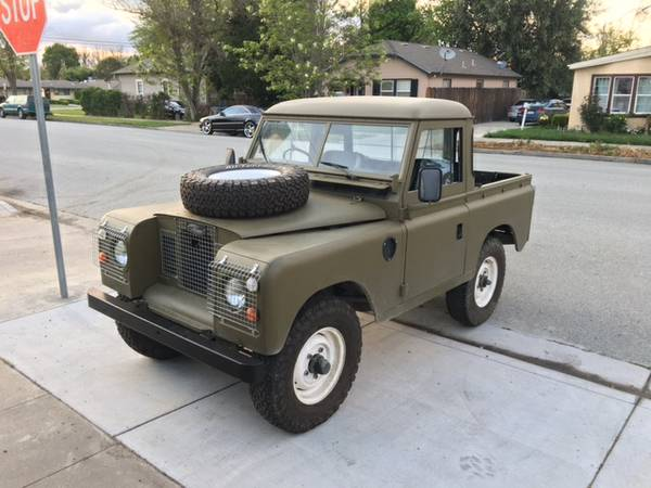 Military 4x4 Truck, 1974 Land Rover Series III