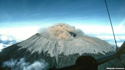 Air Terjun Malang Gunung Semeru Meletus Tahun 1978