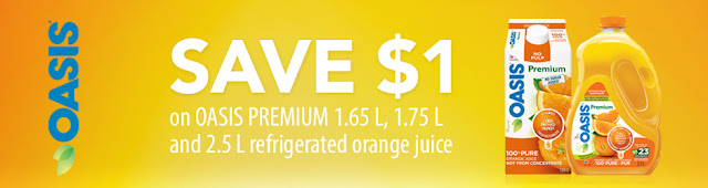 Oasis Orange Juice Coupon