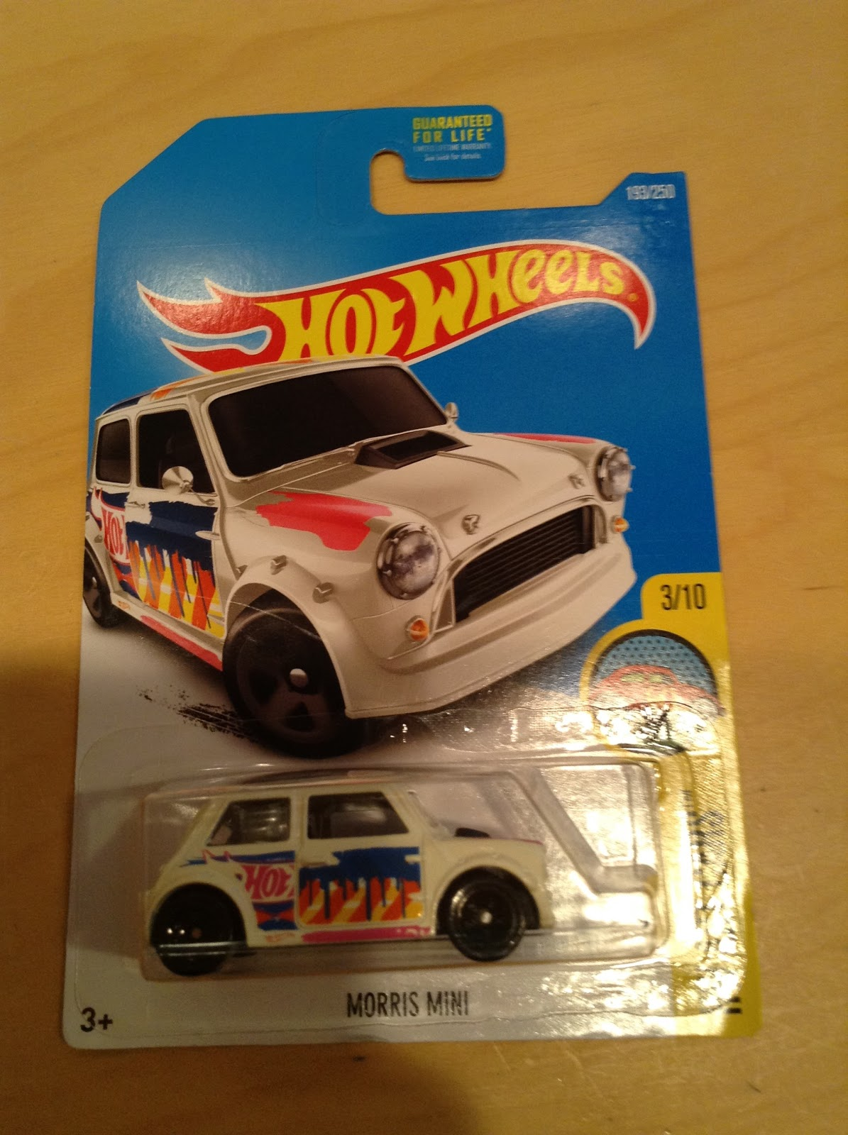 HOT WHEELS 2016 HW ART CARS MORRIS MINI #3//10 ZAMAC