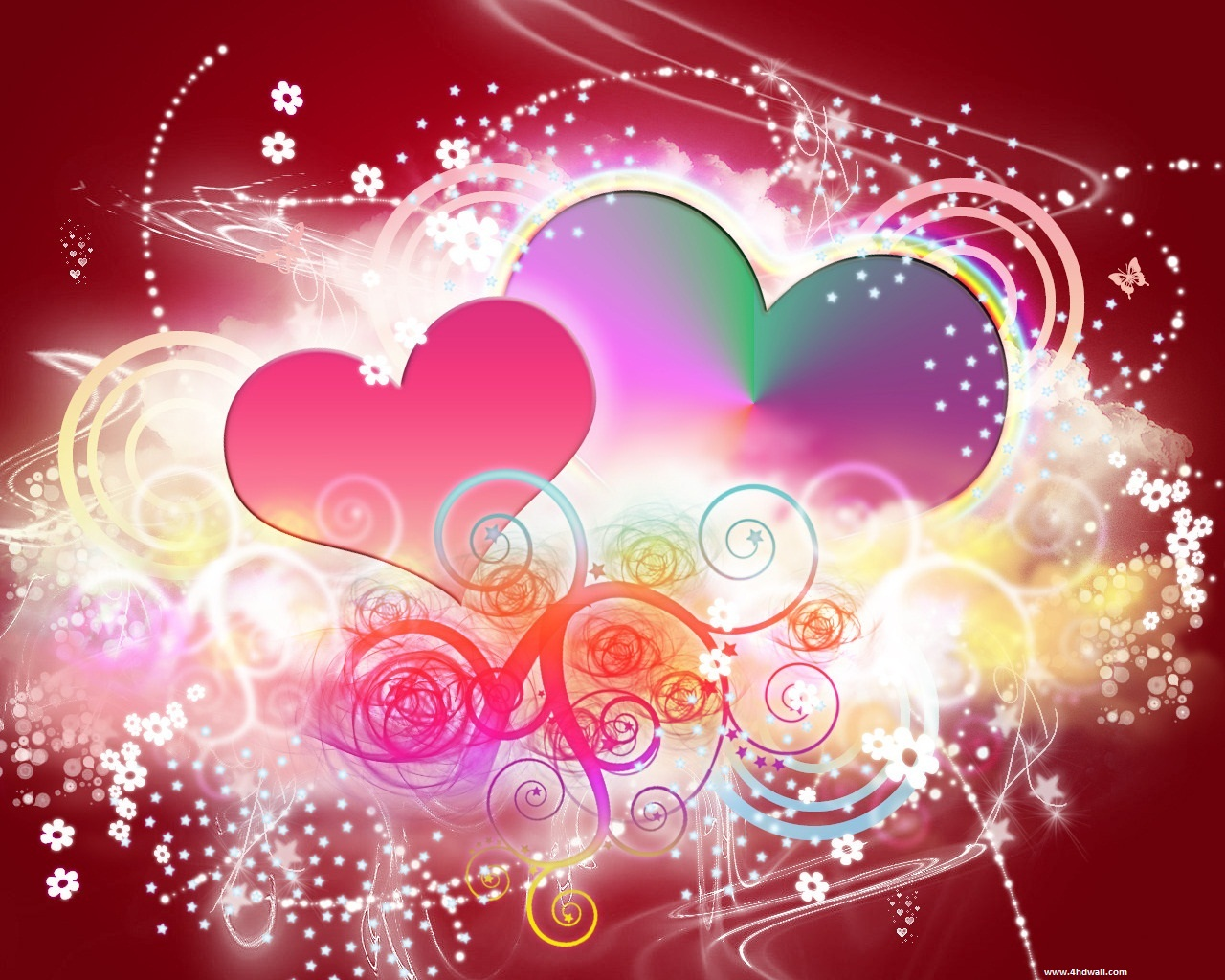 Beautiful Valentine Wallpapers  Neptunes Dreams