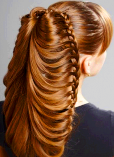 Pakistani Latest Party Hairstyle Collection 2014 For Girls