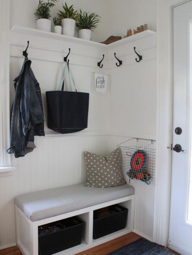 Mueble para abrigos recibidor