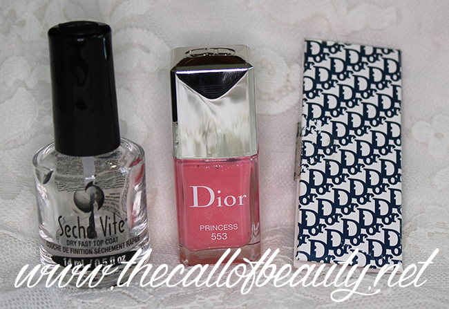 Dior Logomania Nail Art