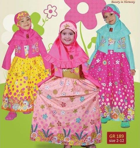 model baju muslim anak keke